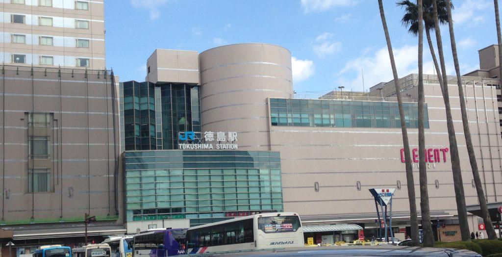 徳島駅のコインロッカー