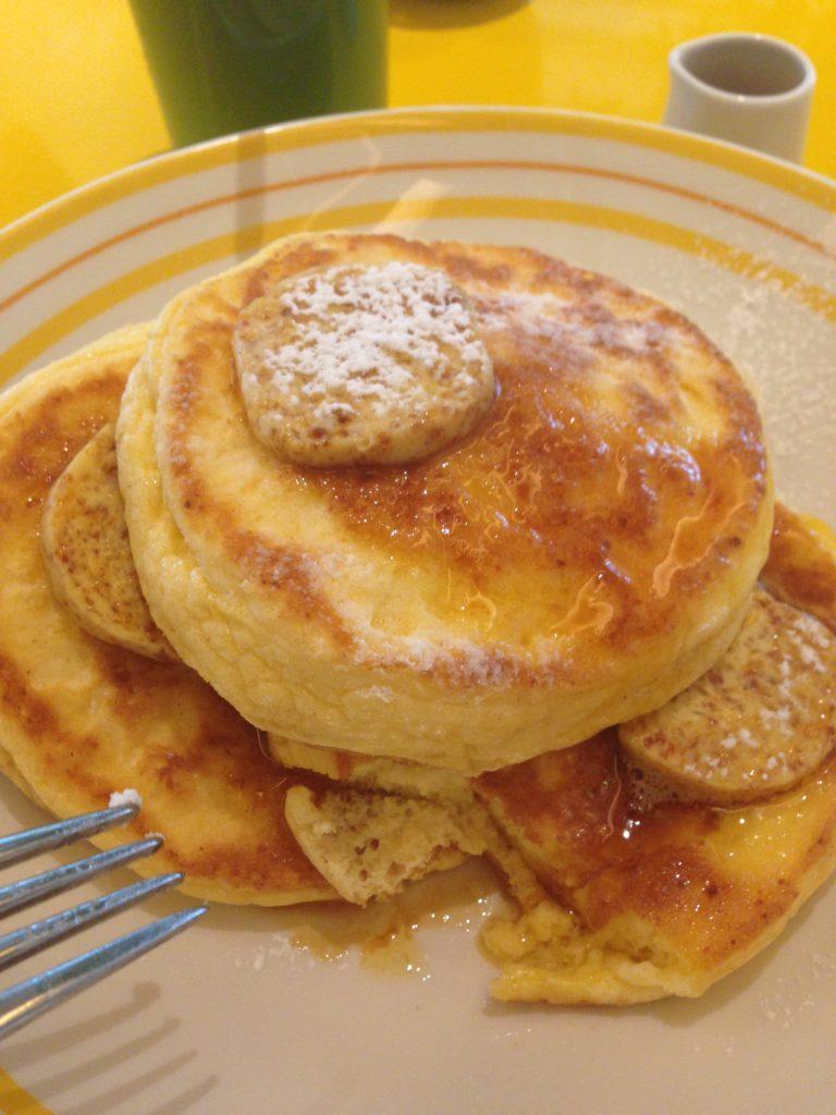 ビルズ大阪のリコッタパンケーキ