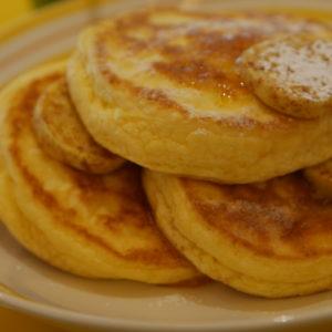 大阪ビルズのリコッタチーズパンケーキ