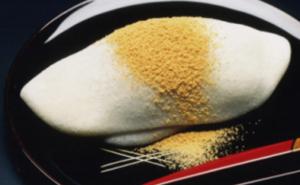 徳島そごう京都展の麦手餅