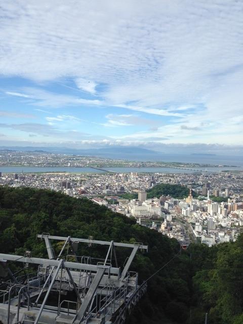 徳島眉山のロープウェイの時刻表や料金